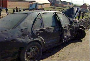 Автомобиль Президента Ингушетии