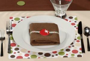 """Новогодняя сервировка стола - """"Горячий шоколад"""""""