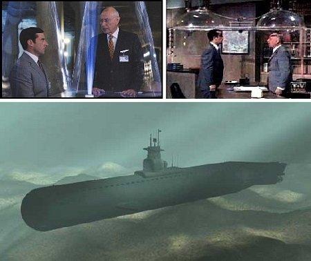 Конус тишины для субмарин