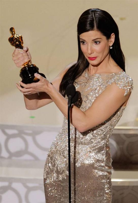 Сандра Баллок (Sandra Bullock) Оскар 2010