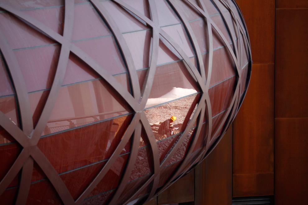 Фасад павильона Австралии на Всемирной выставке в Шанхае
