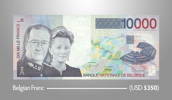 10.000 Бельгийских франков