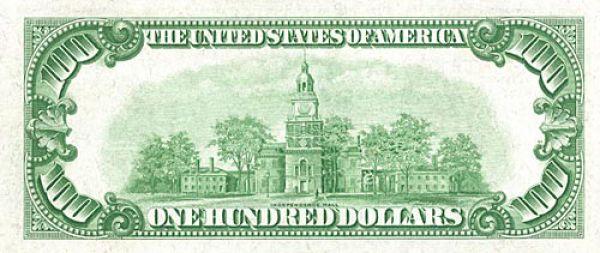 100 долларов США образца 1934 года