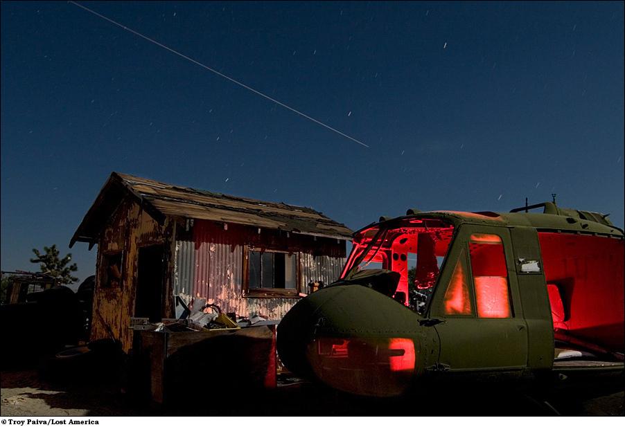 Вертолет Huey времен вьетнамской войны