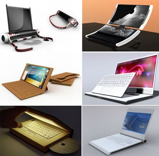 TOP-15 самых необычных и концептуальных ноутбуков