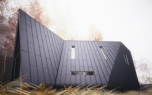 Allandale House – современный вариант лесной хижины