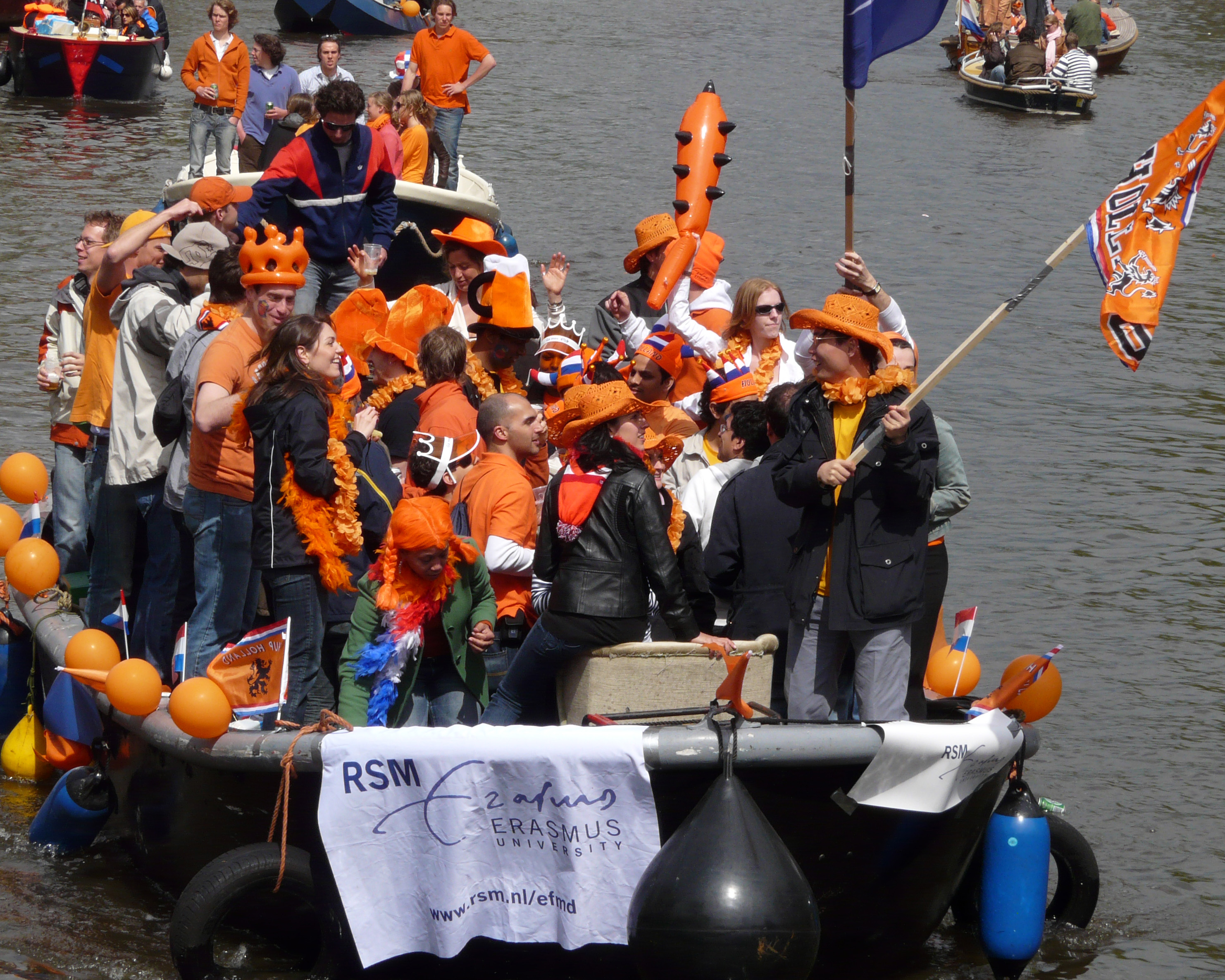 День королевы в Нидерландах