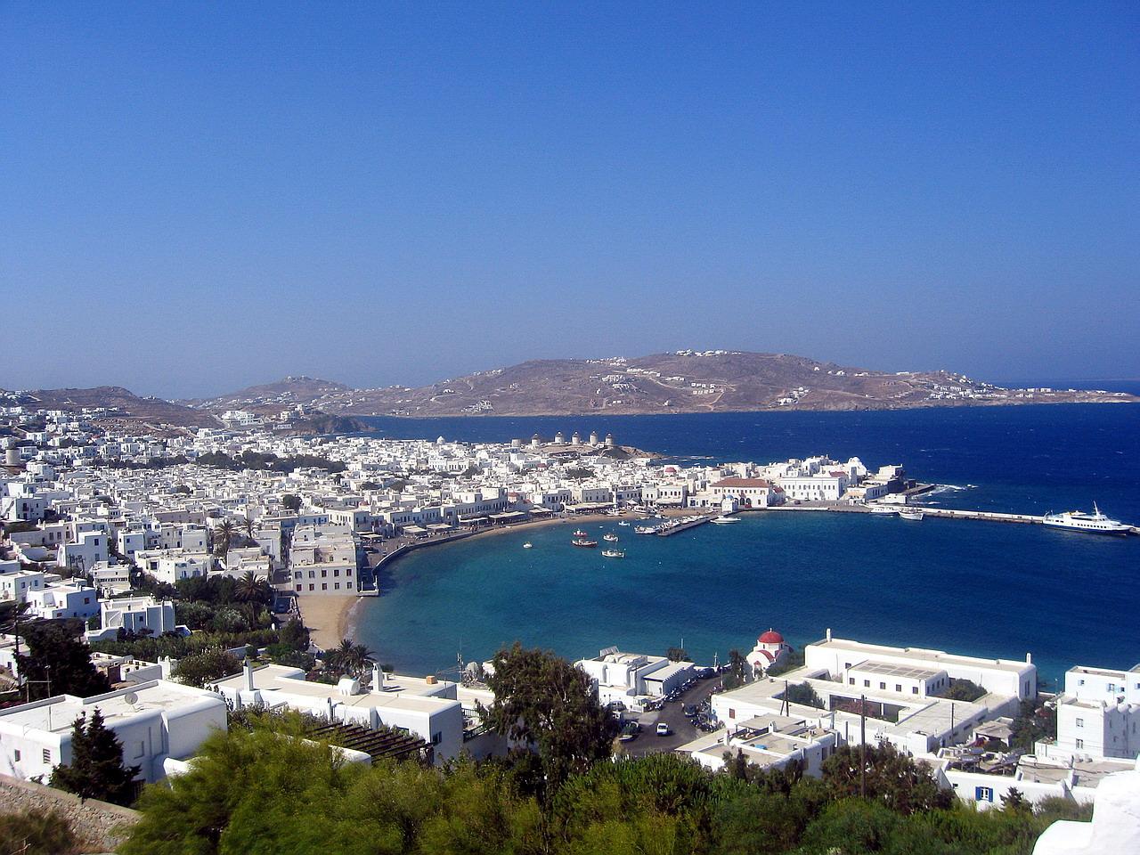 Второе место — Миконос (Греция)