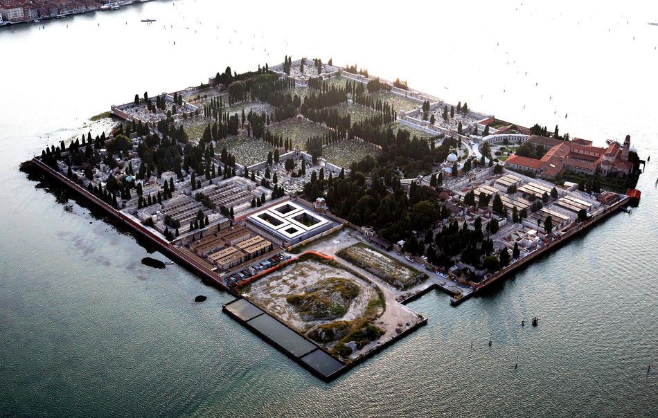 Историческая Венеция с высоты птичьего полета