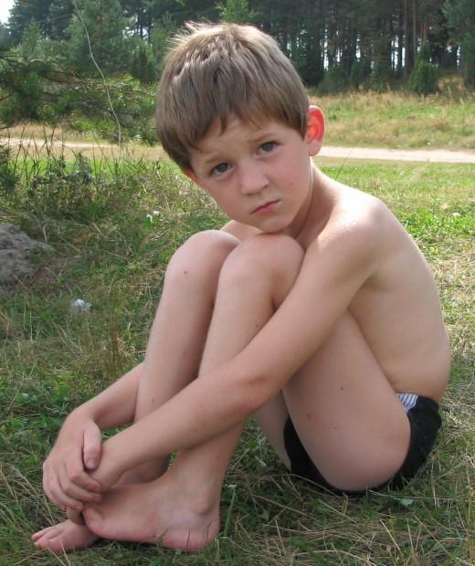Дети и лето