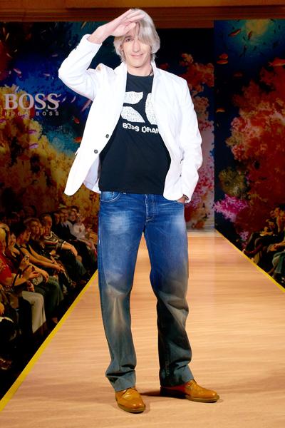 Показ Hugo Boss на Bosco - неделя моды в Москве