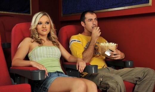 Кинотеатр - не место для любви