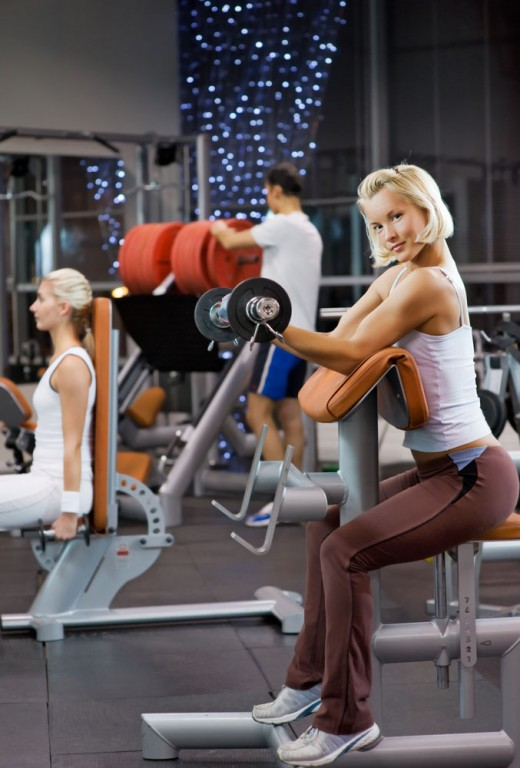 Занятия спортом вызывают у женщин сексуальное возбуждение