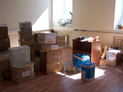 Переезд офиса – испытание для любой фирмы