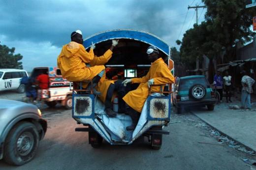 На тропических курортах Карибского моря свирепствует холера