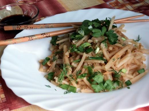 Корейские блюда - лучший выбор для тех, кто хочет сбросить вес