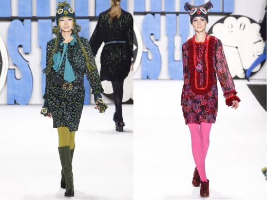Платья сезона осень-зима 2012-2013
