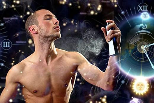 Мужское умение нюхать и пахнуть
