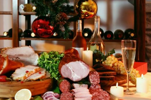 Сколько украинцы потратят на новогодний стол?