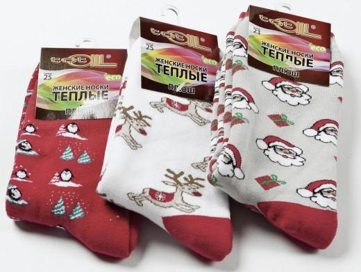 Марка «Totall» выпустила коллекцию подарочных носков к Новому году