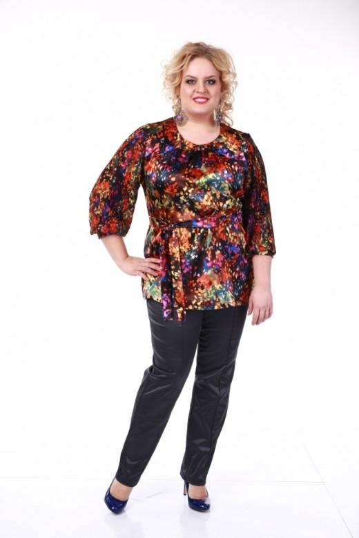 Какую расцветку одежда больших размеров должна иметь?