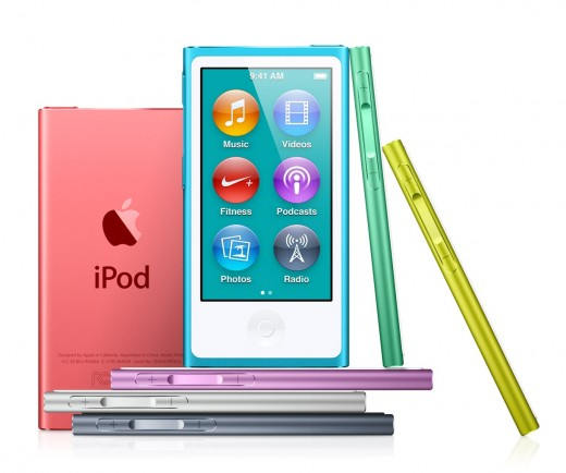 Плееры Apple iPod touch и Apple iPod nano
