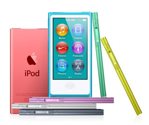 Плееры Apple iPod touch и Apple iPod nano