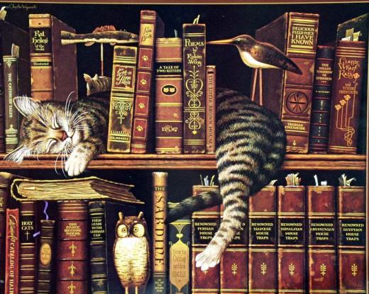Книги любят воздух