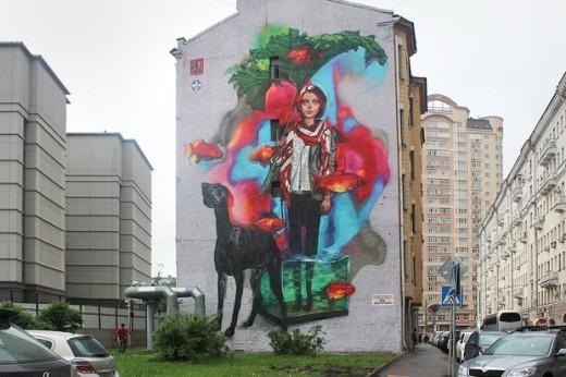 Москва утонет в красочных граффити этим летом