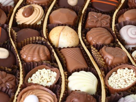 Хранение шоколадных конфет: где, сколько и как