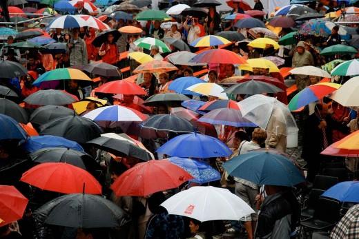 Лучшие зонты - с металлом