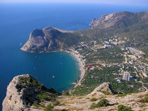 Поселок Санта Барбара в Крыму