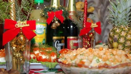Необычные блюда для праздничного стола