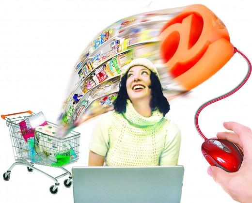 Где совершает покупки современный покупатель?