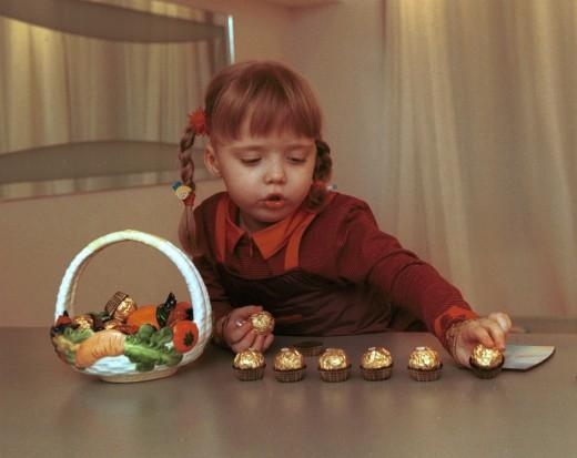 Сладости для детей: выбираем правильно