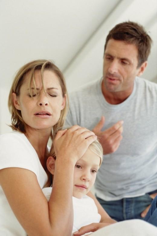 Лишение родительских прав отца – стресс ли это для ребенка?