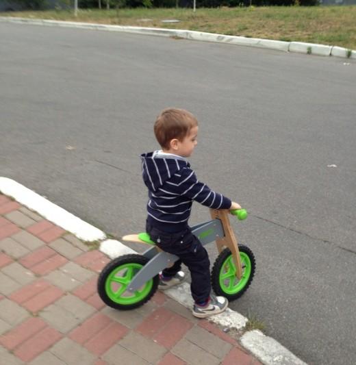 Выбор детского транспорта для малышей