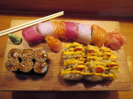 Роллы и суши - секрет популярности