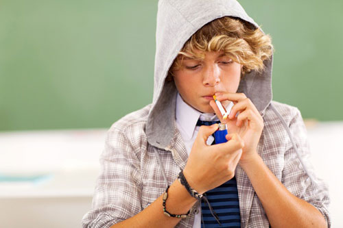 Что делать если подросток курит?