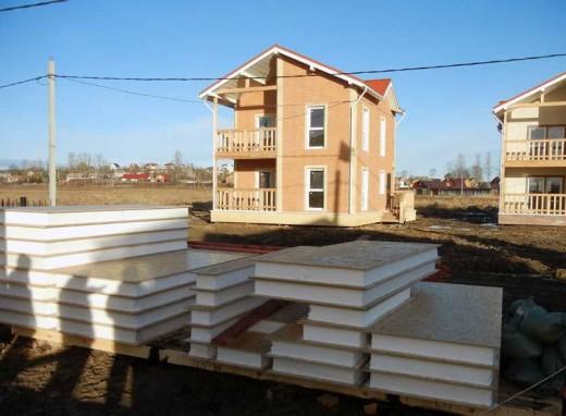 Строительство дома из SIP-панелей
