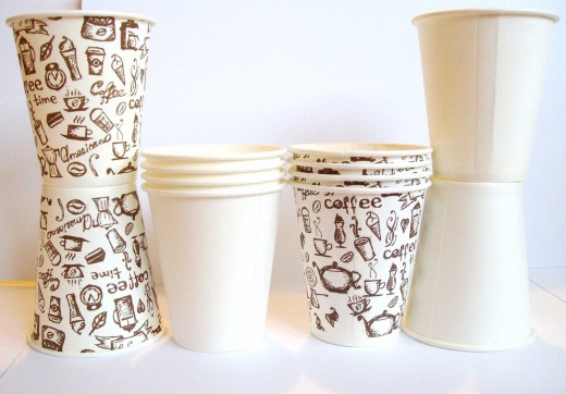 Преимущества бумажных стаканчиков