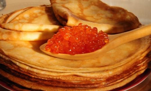 Праздничные блюда на Масленицу