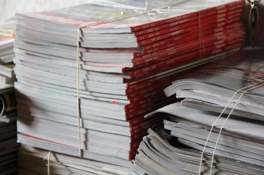 Бумажный бизнес: прием макулатуры