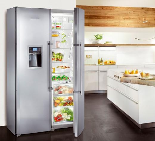 Современные холодильники Side-by-side