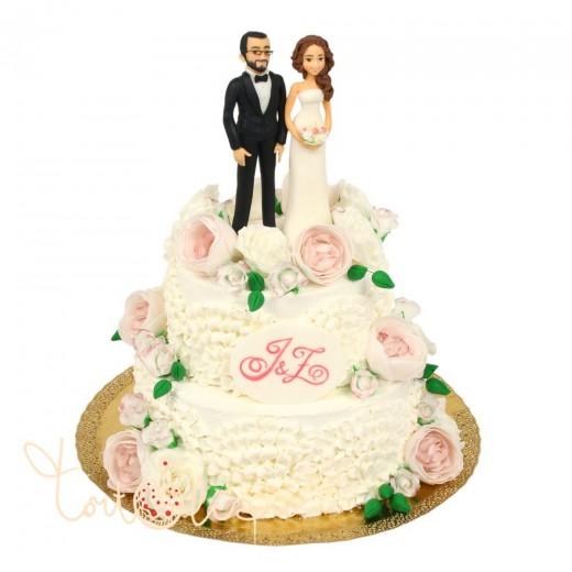 Новая акция от кондитерской «Тортольяно»: каравай в подарок к каждому свадебному торту
