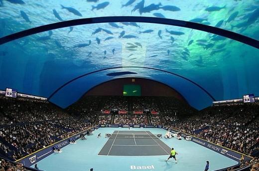 В Дубае построят первый в мире теннисный корт под водой