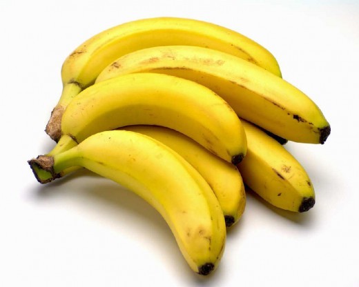 Картинка с надписью банан, днем