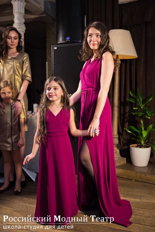Бренд одежды для родителей и детей Mary Blank впервые показал коллекцию осень зима 2015-2016
