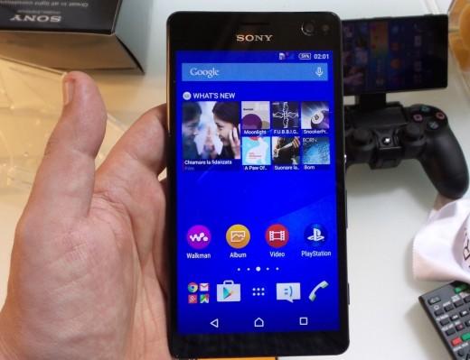 Sony Xperia C4 получает обновление Android 5.1