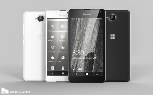 Компания Microsoft презентовала смартфон Lumia 650